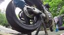 Как поменять резину на мото How To Change Motorcycle Tire With C-Clamp 8 in. Pilot Power