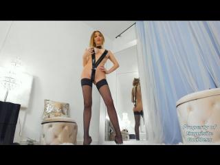Exquisite Goddess - (1080p) [Amateur, Teen, Cosplay, Dildo, Solo, Masturbation, Creamy Pussy, Webcam]