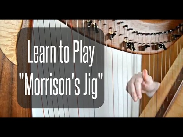 HARP LESSON How to Play Morrison's Jig by ear Fast Jig on Harp