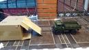 Самодельная лебедка на WPL B 24 - ГАЗ 66 Шишига 1/16 RC