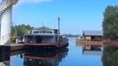 Плавдом Houseboat. Cамоходная баржа, self-propelled barge.