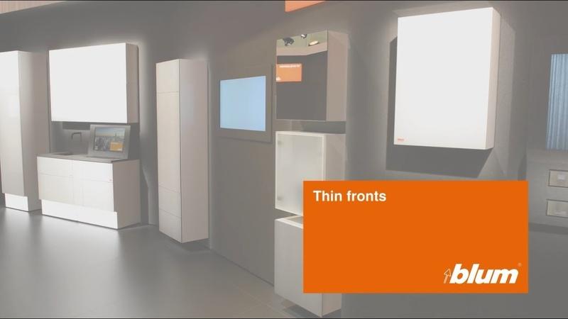Решения для тонких фасадов от Blum