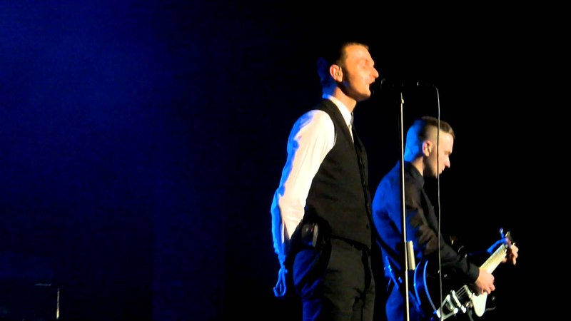 Hurts *The Crow*, *Ohne Dich*, *Blood Tears and Gold*, *Exile* Frankfurt/M. 14.11.2013