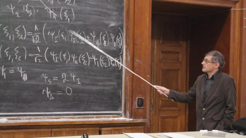 Савельев-Трофимов А. Б. - Введение в квантовую физику - Молекулы (Лекция 10)