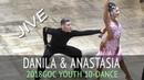 Данила Мазур Анастасия Полонская | Джайв | GOC2018 Молодежь 10 танцев