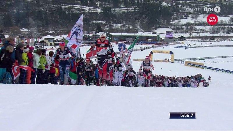 Women's 10 km mass start [C] - Highlights - Val Di Fiemme - Tour De Ski 2018 - Stage 5
