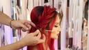 Braiding hairstyle tutorial, Farrukh Shamuratov