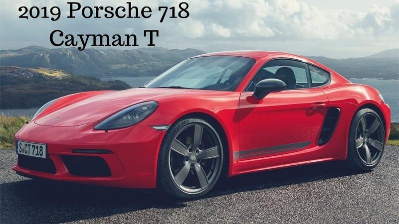 2019 Porsche 718 Cayman T