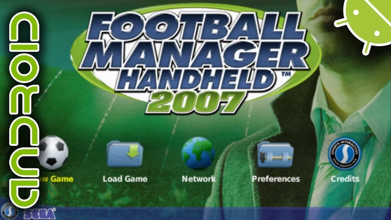 Football Manager Handheld 2007 | NVIDIA SHIELD Android TV | PPSSPP Emulator [1080p] | Sony PSP