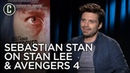 Sebastian Stan on Stan Lee and Avengers 4