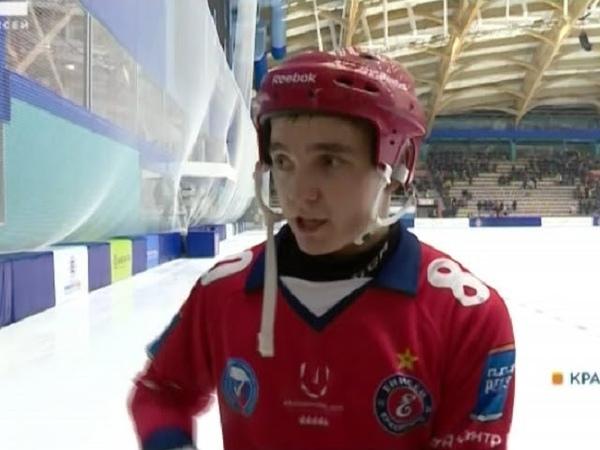«Телекомпания Енисей». Хоккеисты «Енисея» поделились впечатлениями от первого матча на новой крытой арене