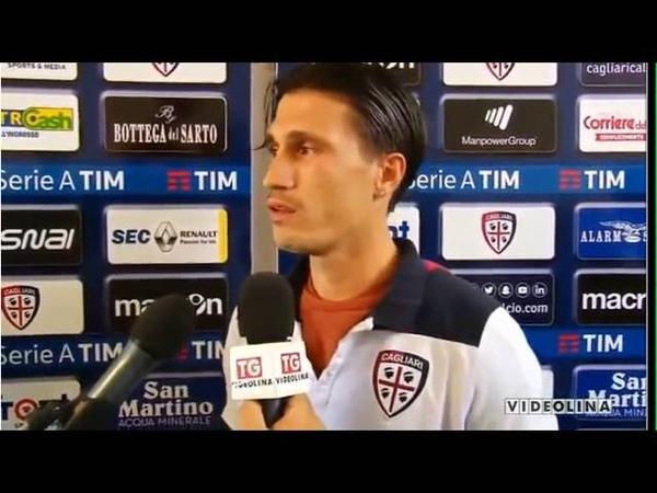 Fabio Pisacane, commozione all'esordio in A (Cagliari-Atalanta 3-0) dopo la malattia