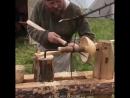 Древний токарный станок