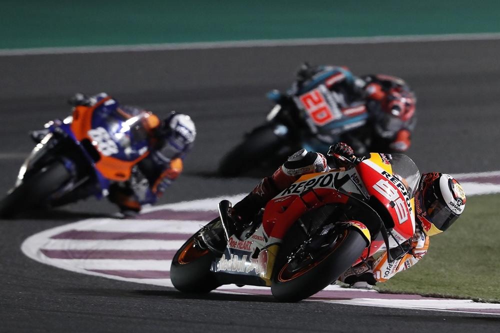 Гран При Катара 2019: Марк Маркес не поддерживает аэро протест