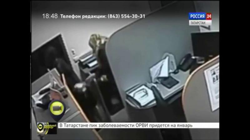 Грабитель в образе Стаса Михайлова обчистил банк