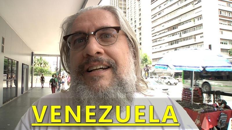 O QUE AS PESSOAS ACHAM DA CRISE NA VENEZUELA