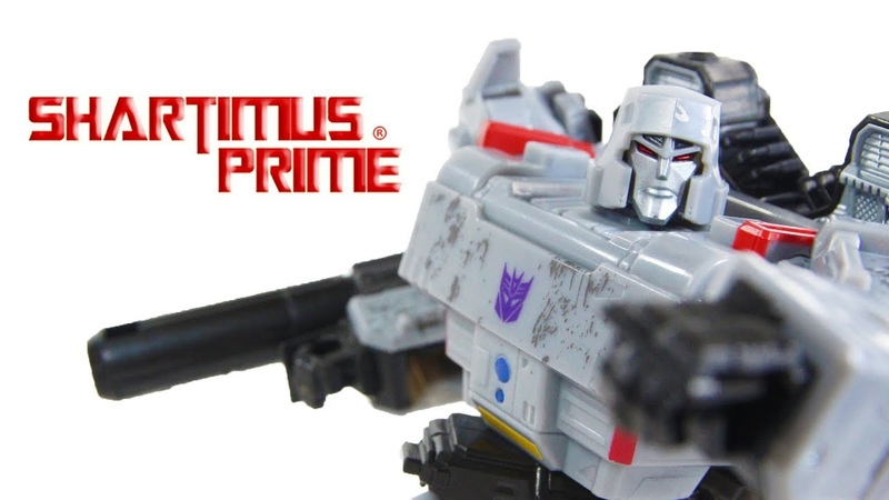 Transformers Siege Megatron Voyager Class Hasbro Takara Tomy Action Figure Toy Review