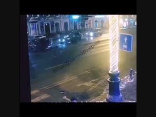 Ужасная авария в Санкт-Петербурге - каршеринг Pool.Start