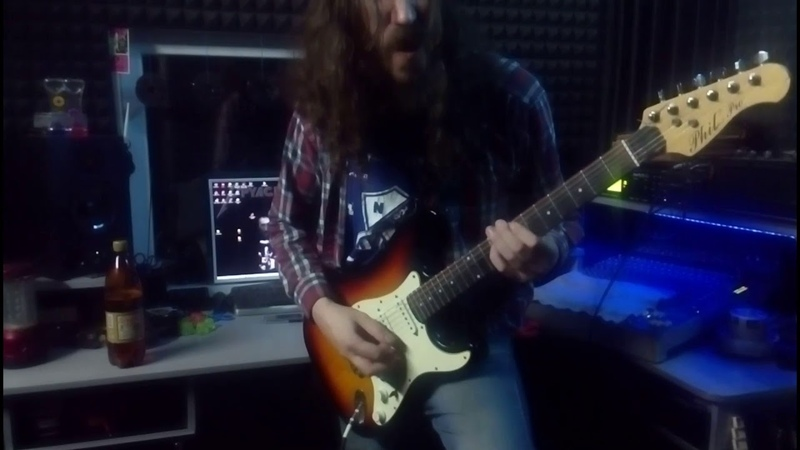Paradise Lost - Hallowed Land (uprt guitar cover)