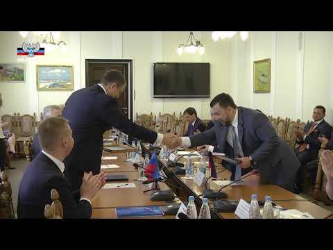 Программы развития ДНР и ЛНР очень схожи, наш главный курс – сближение с Россией – Денис Пушилин