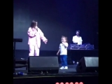 Темникова с дочкой