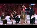 «Андрей Малахов. Прямой эфир». Гоген Солнцев порвал шарж в стиле картины «Неравный брак»