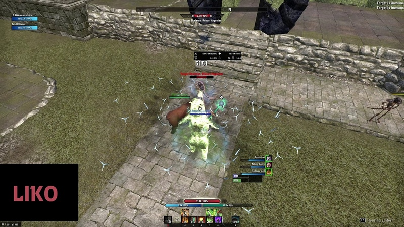 ESO - Who needs Stamblade? - Stamina Warden Rotation (57k on 6mil) - Murkmire PTS 4.2.0