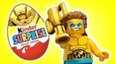 Лего. Минифигурки. Киндер сюрприз. Мультики для детей. se01e02