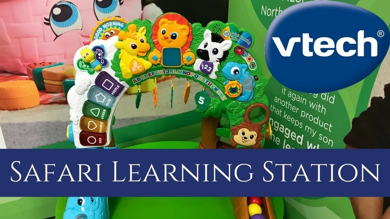 New VTECH Safari Learning Station Preview Toy Fair 2018