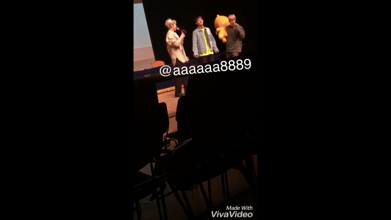 180419 EXO-CBX - The Chance Of Love @ Fansign in Gangnam