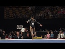 Morgan Hurd Floor Exercise 2018 U S Gymnastics Championships Senior Women Day 2