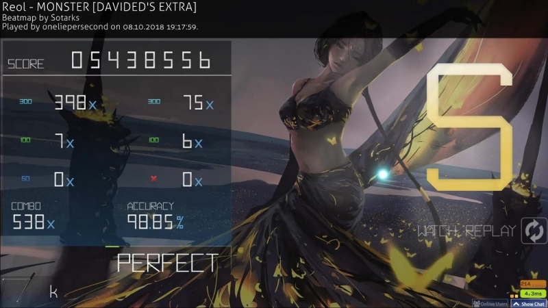 Osu!: Reol - MONSTER [DAVIDED'S EXTRA]