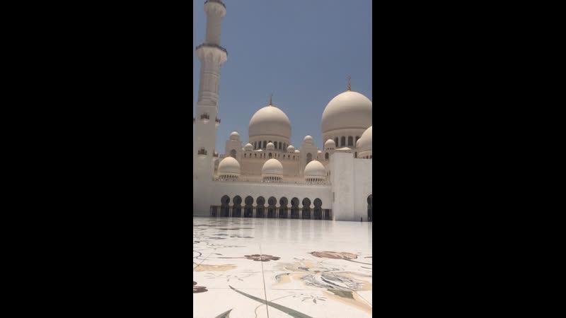 Мечеть шейха Зайеда Абу-Даби
