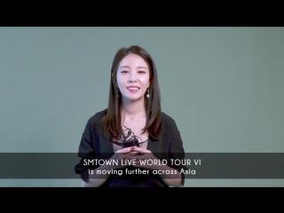 BOA LIVE IN DUBAI - SMTOWN WORLD TOUR VI, APRIL 6TH 2018