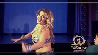 OLGA NOUR RUSSIAN BELLY DANCER ON GALA SHOW CUP OF OLGA NOUR 2018