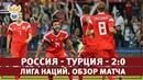Россия - Турция - 2:0. Лига Наций. Обзор матча l РФС ТВ