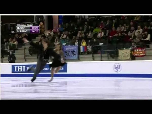 Carolina MOSCHENI Adam LUKACS - 2015 World Junior Championships - FD