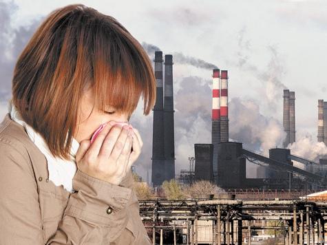 Ситуация в Армянске с выбросами химического вещества ухудшилась