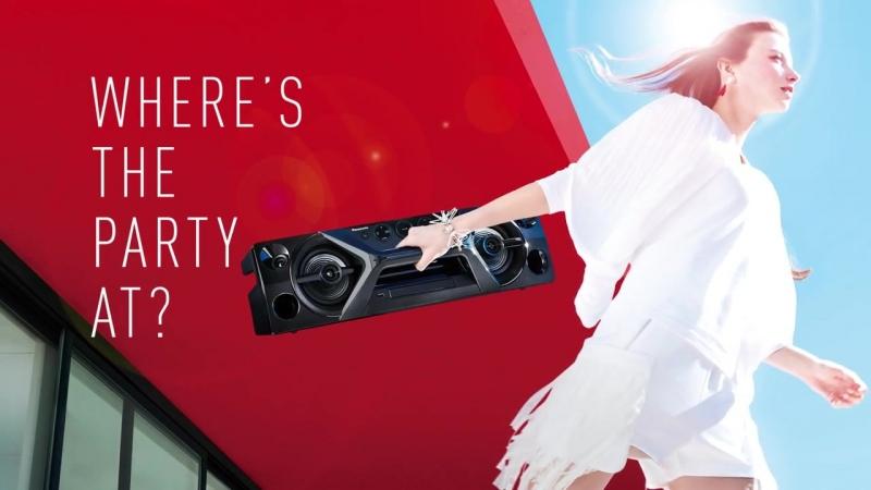 Panasonic One-Box High Power Audio System SC-UA3
