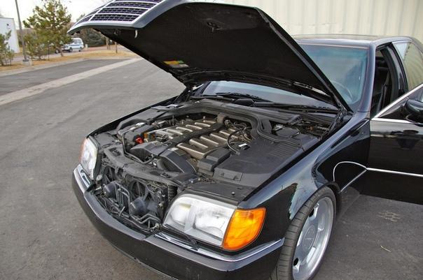 Очень редкие : Mercedes-Benz W140 S7.4 RENNtech