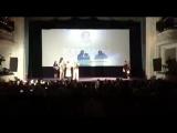 Никита Михалков получает премию на кинофестивале в Нижнем - Типичный Нижний Новгород