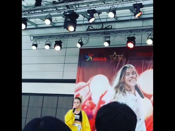 Я была на концерте Данелии Тулешевой было очень круто