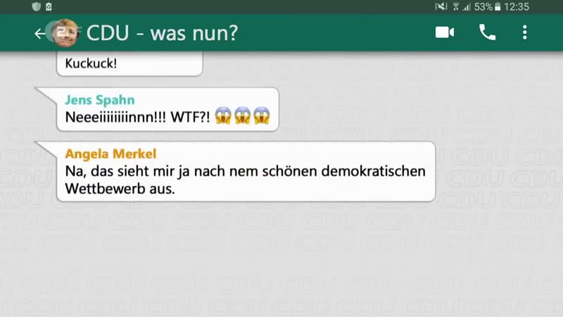 Äintschies WhattsApp Gruppe