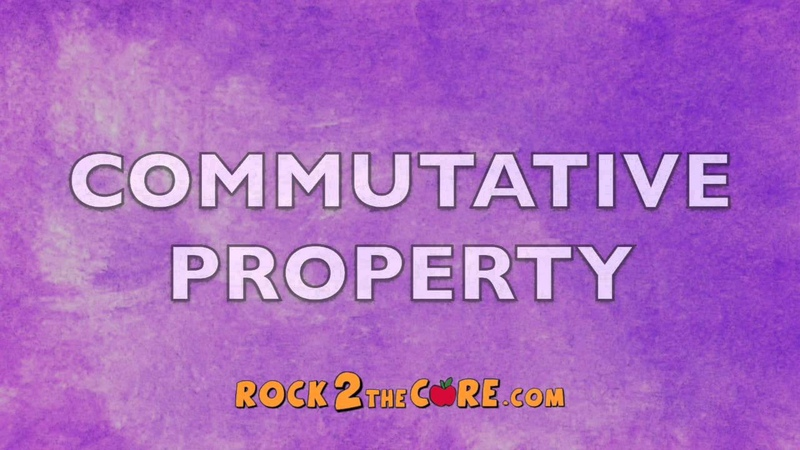 Commutative Property Song - Rock 2 the Core - K-5 Math