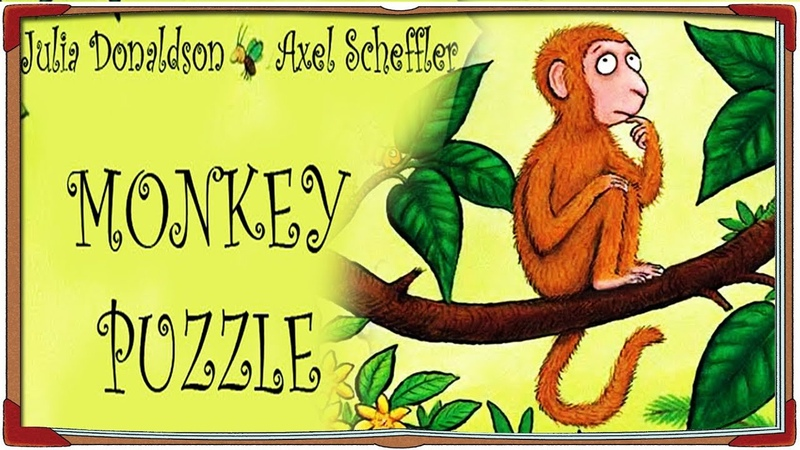 Short story - Monkey Puzzle - Where Is My Mom?