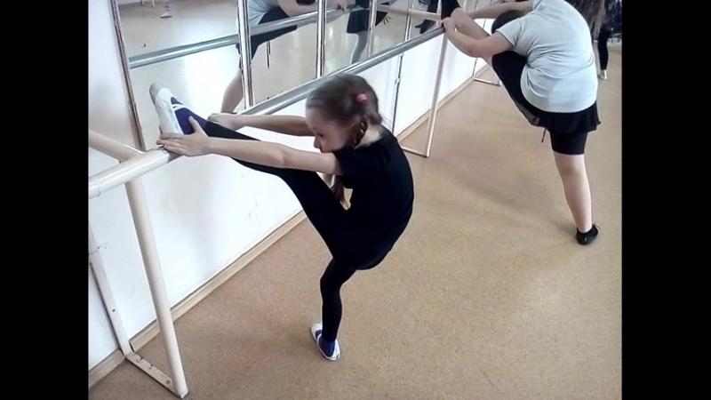 Балетная Хореография на наших тренировках ШВТ Мириям г Ижевск