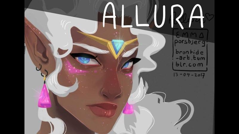 ✩ Allura doodle! ✩ [speedpaint]