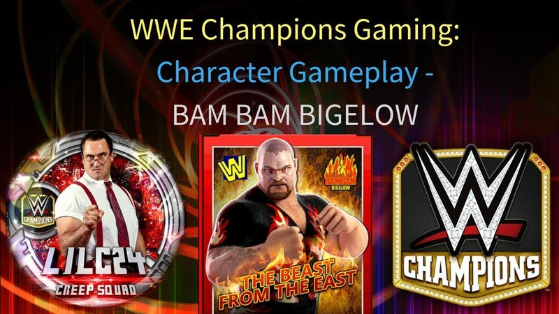 WWE Champions - 🎥 Bam Bam Bigelow 3 STAR GOLD Gameplay