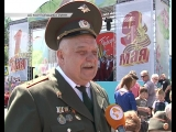 Праздничный Курск солдатская каша и музыка военных лет