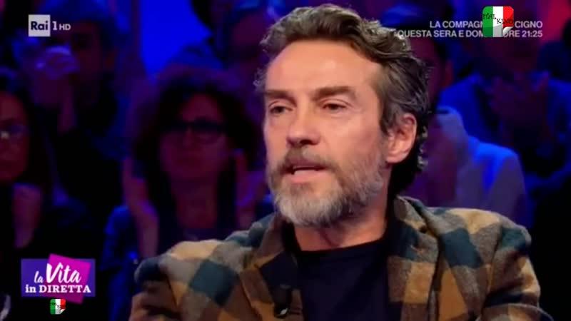 Alessio Boni i viaggi nel tempo grazie alle fiction La vita in diretta 07 01 2019